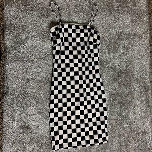 Fashion Nova Dresses - Checkerboard Mini Dress